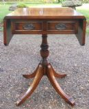 Mahogany Dropleaf Small Sofa Table by Bevan Funnell